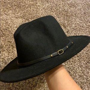 Women Belt Buckle Hat